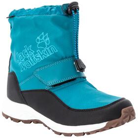 Jack Wolfskin Woodland Texapore WT VC Chaussures Mi-Hautes Enfant, turquoise/phantom